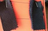 Vzorky dámskeho kabátu Serena 15. Možnosť ušitia v týchto prevedeniach.
