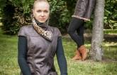Vesta Otília a Kožuch Lucia - farba hnedá