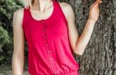 Overal Janka - farba ružová